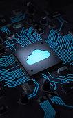 istock Cloud computing 1145589524
