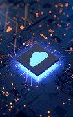 istock Cloud computing 1145589624