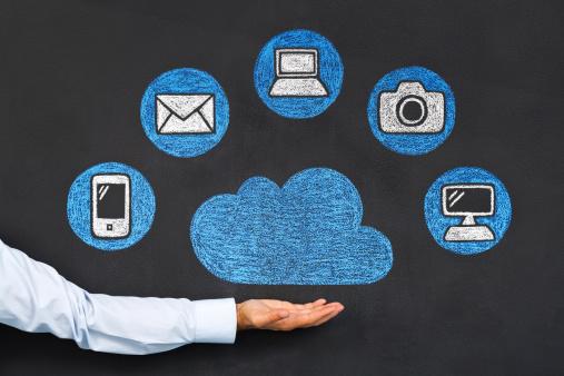 Cloud Computing Stockfoto und mehr Bilder von Blase - Physikalischer Zustand