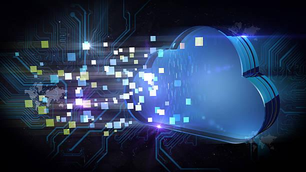 cloud computing - kreativer speicher stock-fotos und bilder