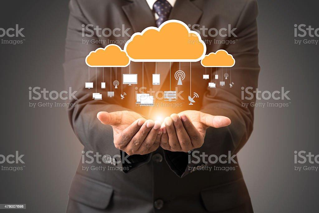 cloud computing bildbanksfoto