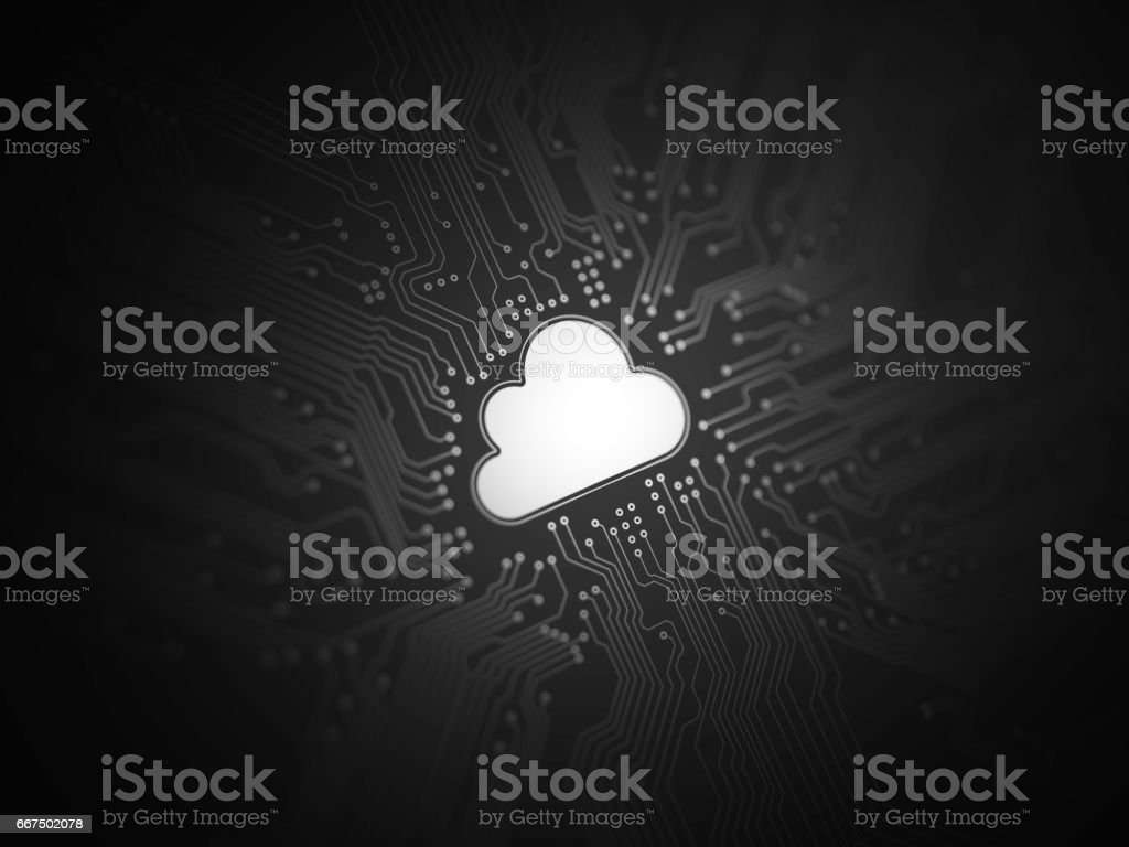 Cloud computing foto stock royalty-free