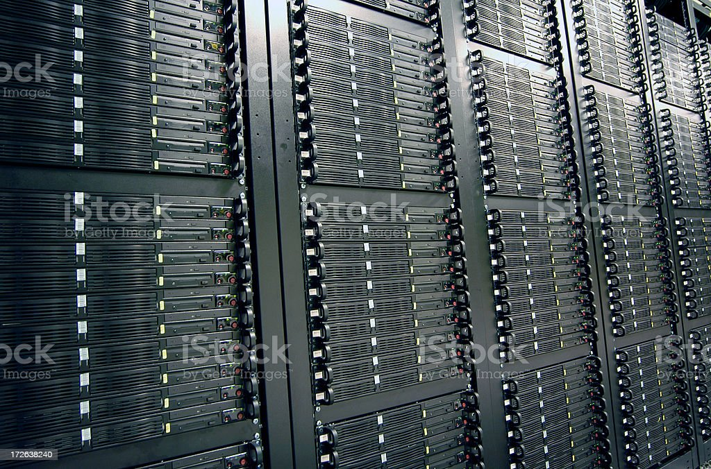 Cloud Computing Servers stock photo