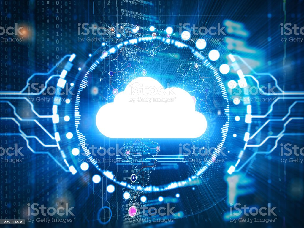 Cloud computing-Technologie – Foto