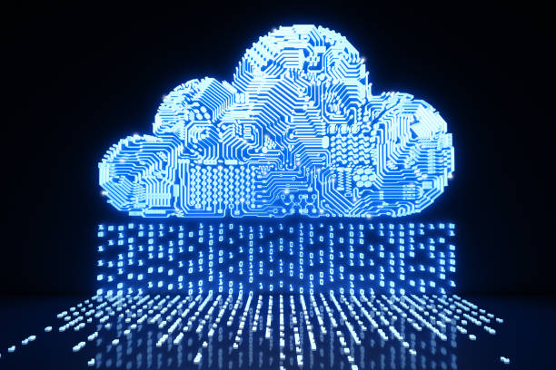 cloud computing technology - emigration and immigration stock photos and pictures