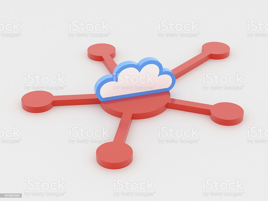 Cloud Computing XL+ stock photo