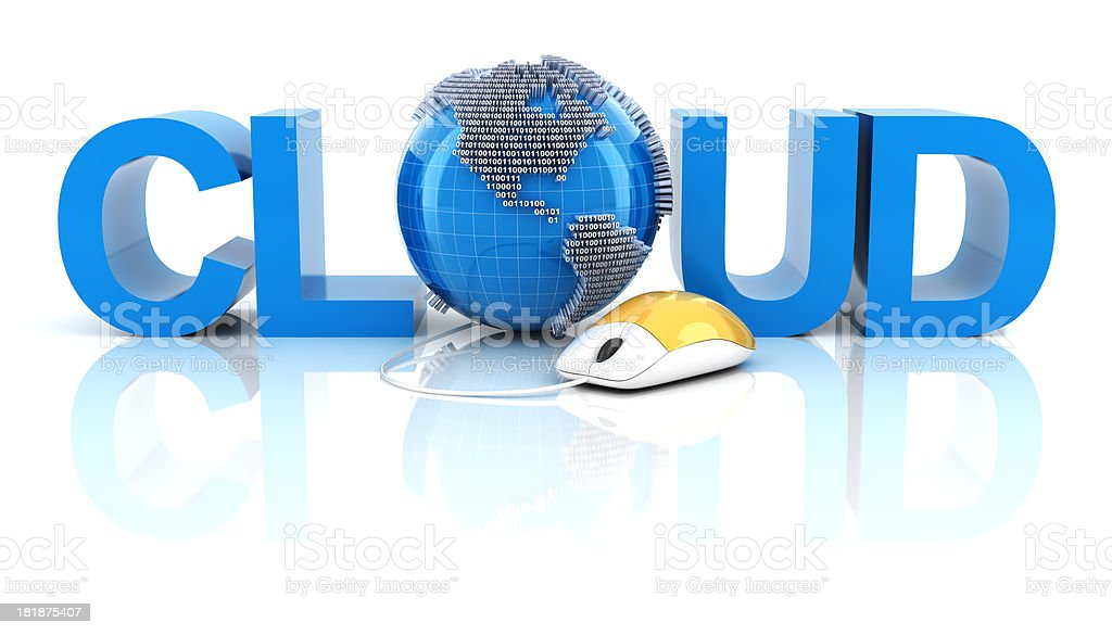 Cloud concept royalty-free stock photo