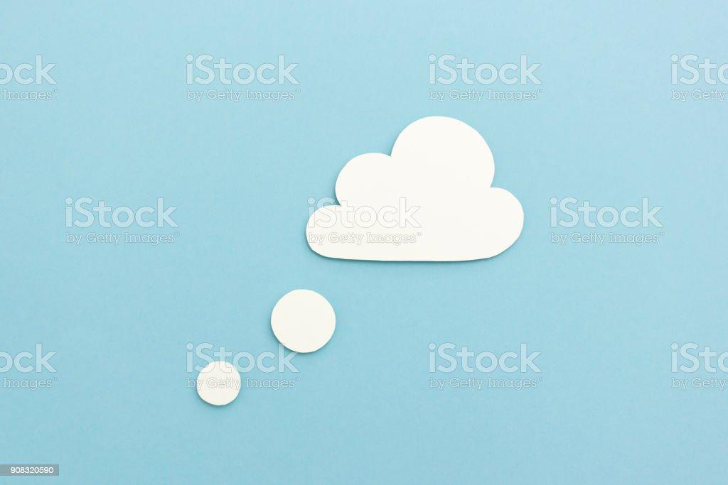 Conceito de sonho nuvem - foto de acervo