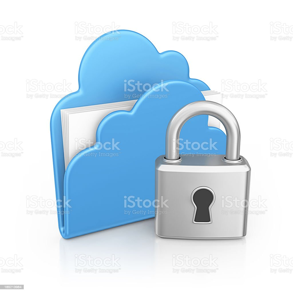 cloud file royalty-free stock photo
