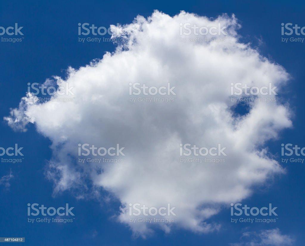 Cloud fish stock photo