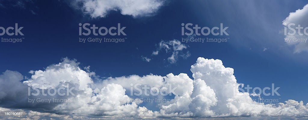 Cloud Formation royalty-free stock photo