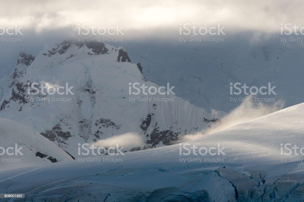 Cloud-Formationen-Antarktis – Foto
