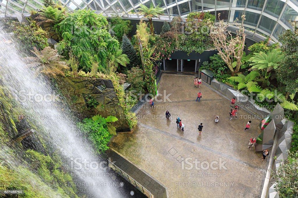 cloud garden greenhouse in Singapore – Foto