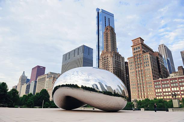 Cloud Gate in Chicago – Foto