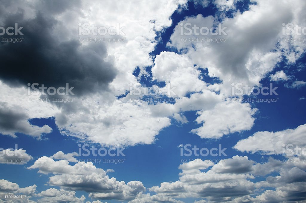 cloud in sky royalty-free stock photo