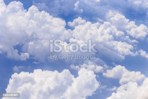 istock cloud in the blue sky 494400461