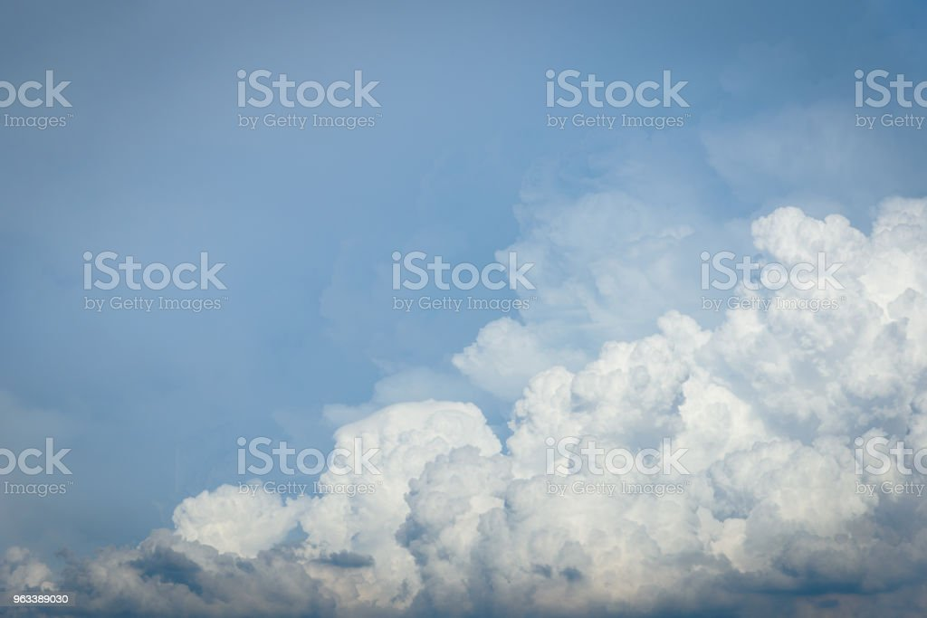 Cloud in the sky. - Zbiór zdjęć royalty-free (Abstrakcja)
