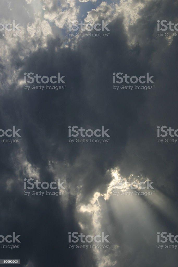 cloud inspiration royalty-free stock photo