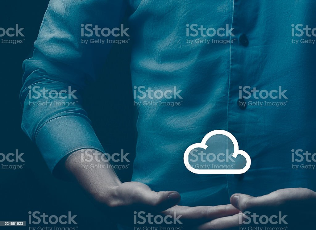 cloud internet future stock photo
