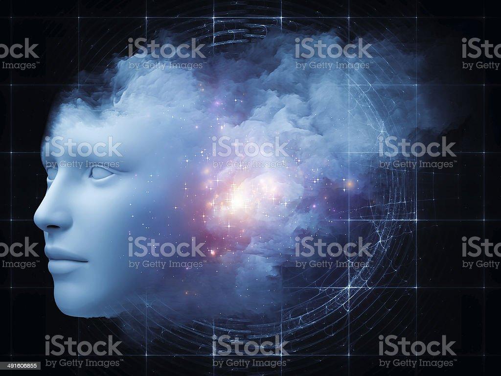 Cloud Mind stock photo