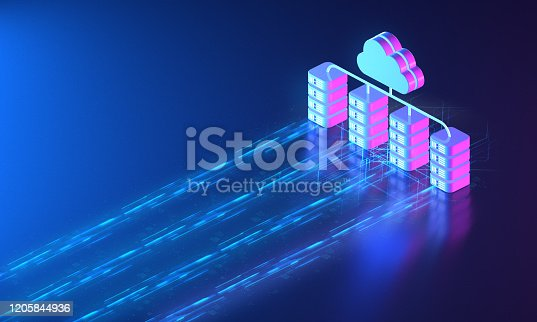 1151943994 istock photo Cloud Network Server Solutions 1205844936