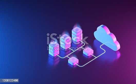 1151943994 istock photo Cloud Network Server Solutions 1208122486