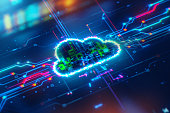 istock Cloud Network Solution 1273823720