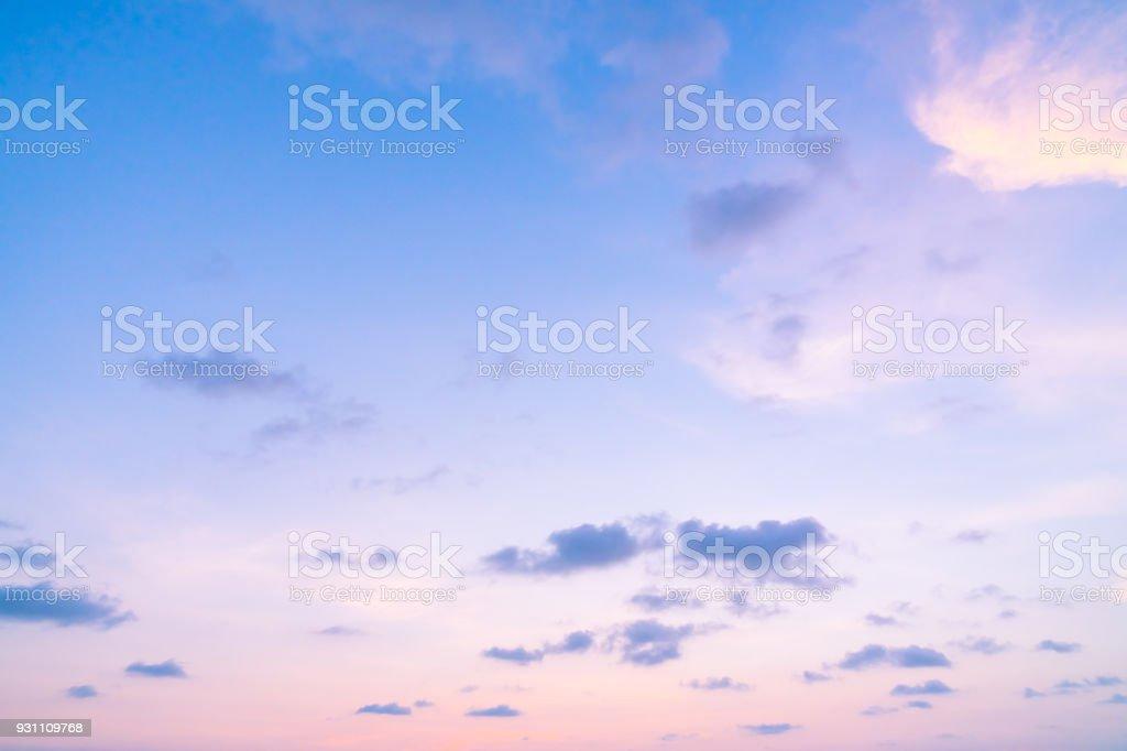 Gökyüzü günbatımı zaman bulut - Royalty-free Alacakaranlık Stok görsel