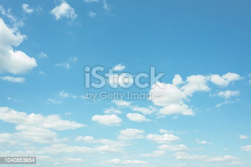 istock cloud on the sunset sky background with a pastel color 1040853654