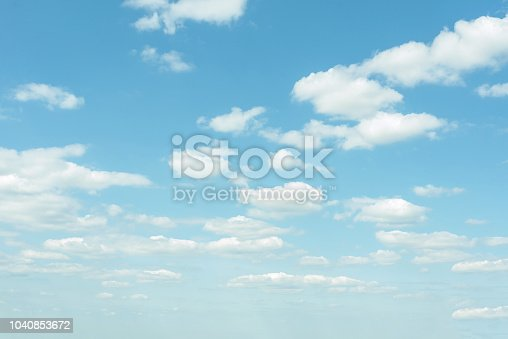 istock cloud on the sunset sky background with a pastel color 1040853672