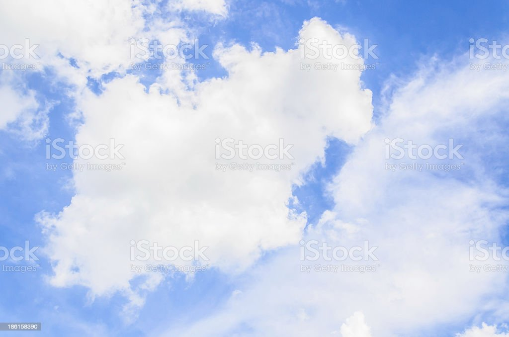 Cloud royalty-free stock photo