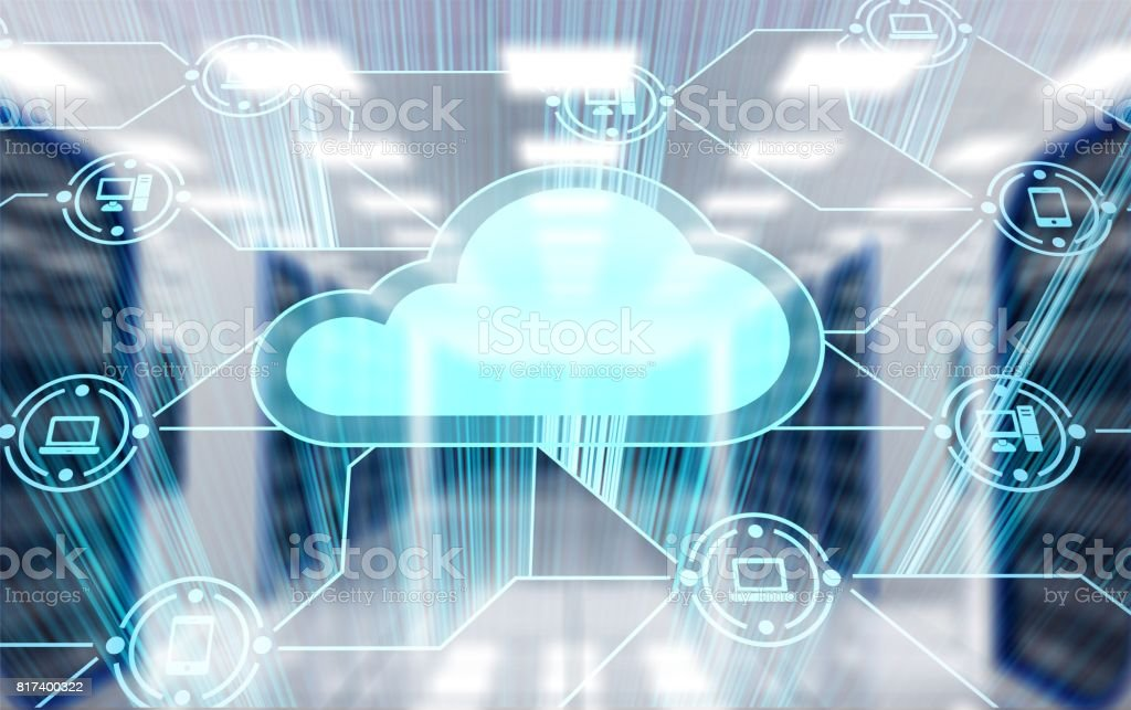 Cloud. stock photo