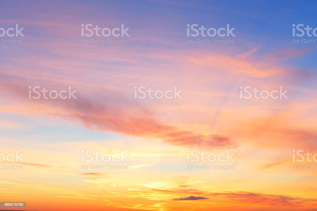 cloud pink. stock photo