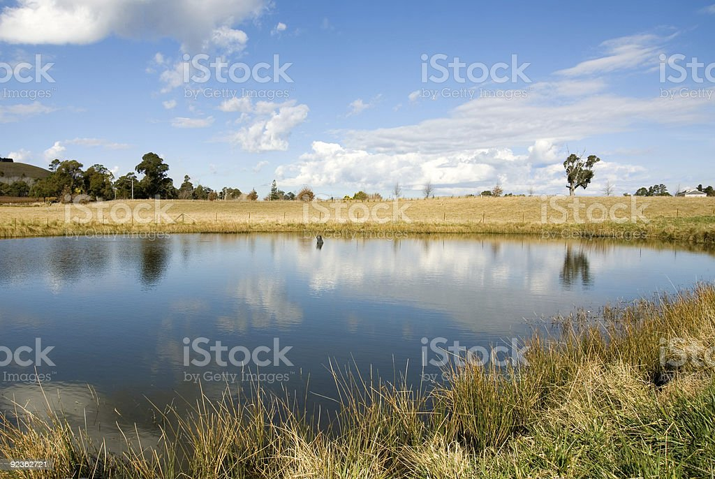 Cloud Reflections royalty-free stock photo