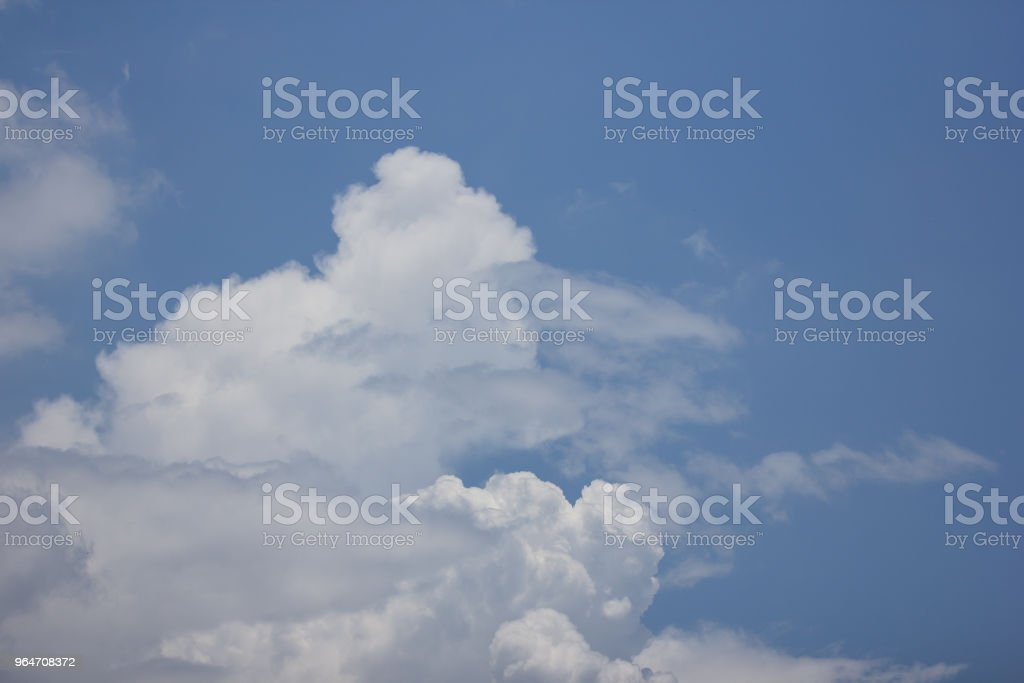 Cloud Scape  Cloud from Tropical Sky. royalty-free stock photo