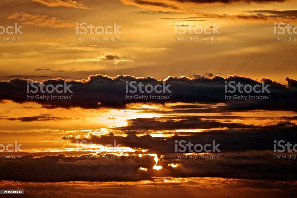 Cloud scape royalty-free stock photo