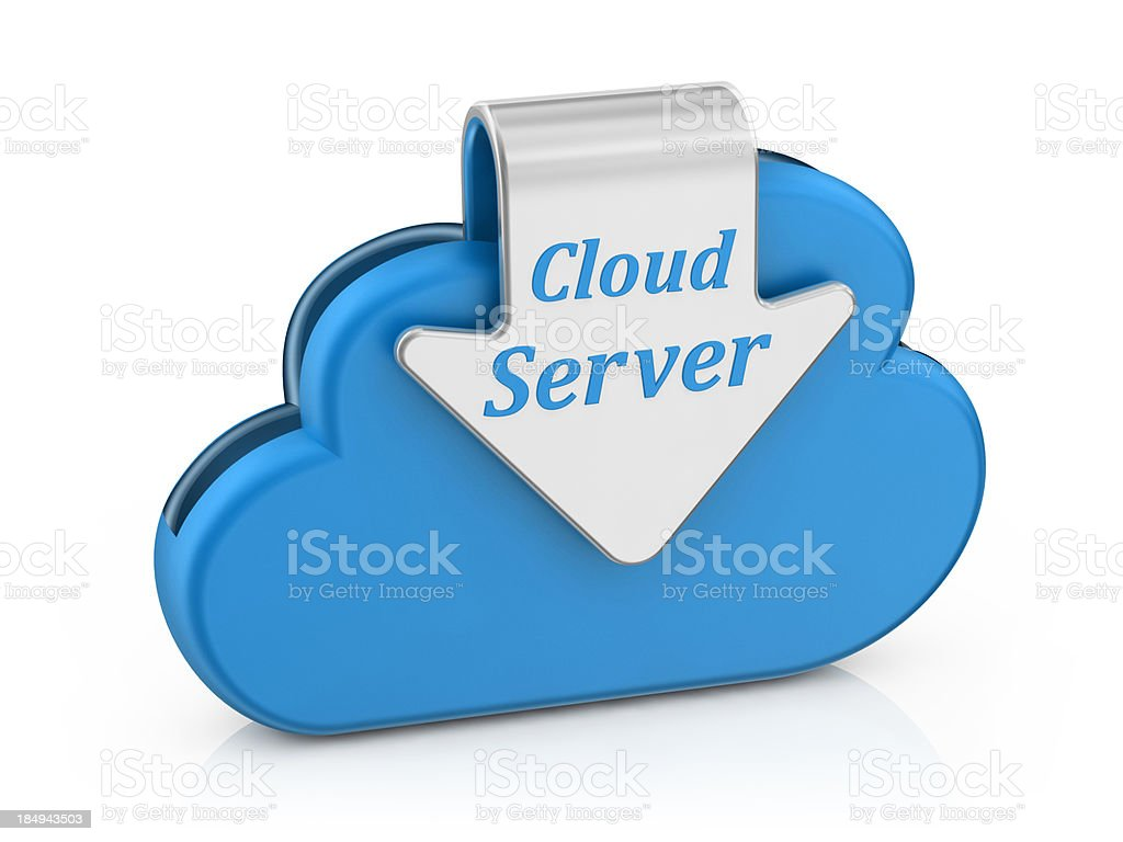 Cloud  Server royalty-free stock photo