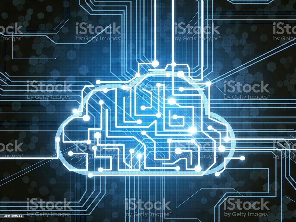 Cloud Service stock photo