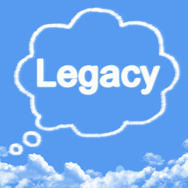 Cloud shaped as legacy Message Cloud shaped as legacy Message legacy of dreamers stock pictures, royalty-free photos & images