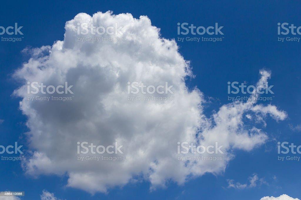 Cloud snail stock photo