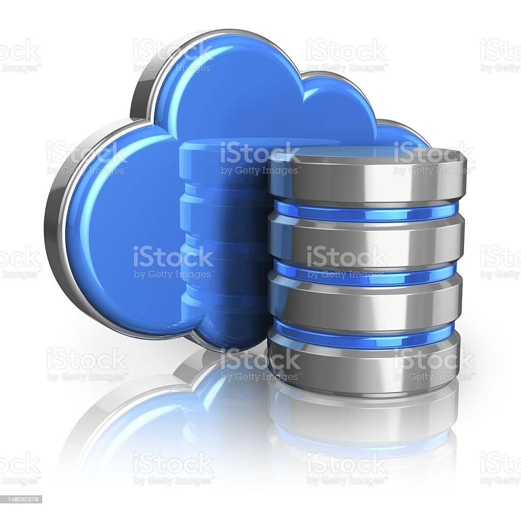 Cloud storage concept royalty-free stock photo