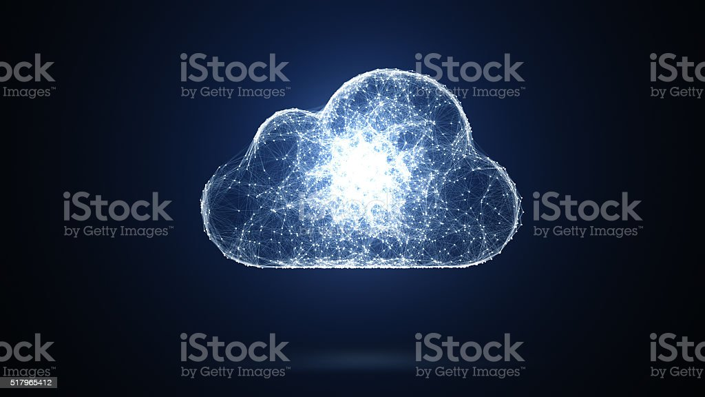 cloud storage bildbanksfoto