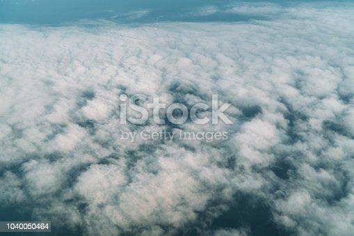 istock Cloud texture 1040050464