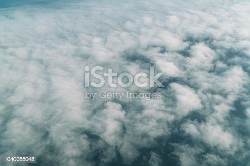 istock Cloud texture 1040055048