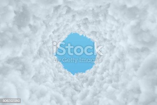 istock Cloud Tunnel 506202050