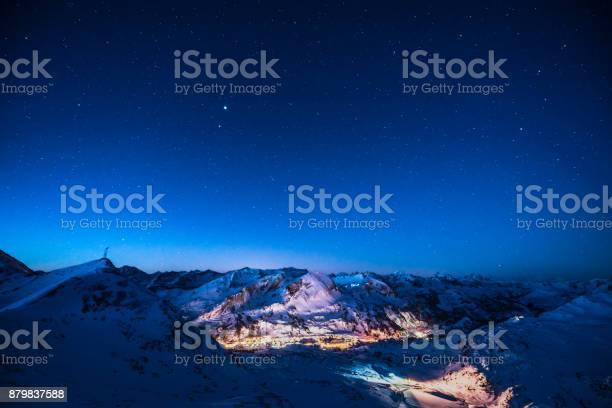 Photo of Cloud Typologies - early morning in mountain ski resort