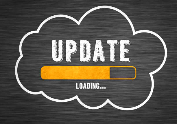 Cloud Update concept Cloud Update concept software update stock pictures, royalty-free photos & images