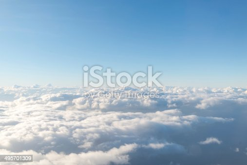 istock cloud with the sky 495701309
