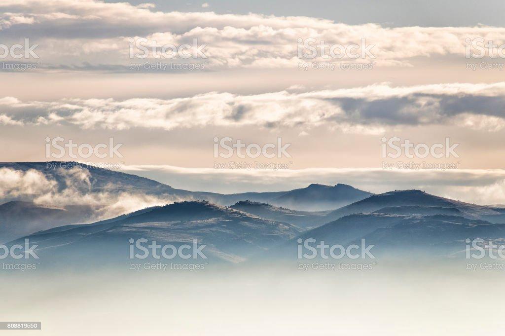 Bulutlu stok fotoğrafı