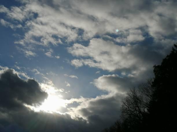 Cloudes stock photo